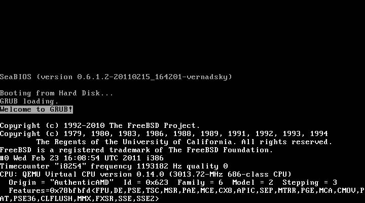 Booting the FreeBSD Kernel