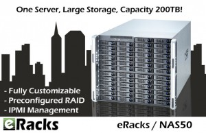 NAS50 Network Attached Storage server from eRacks