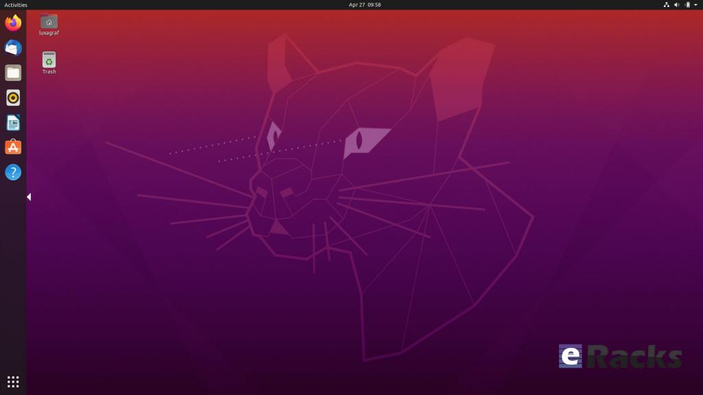 """Ubuntu 20.04 LTS """"Focal Fossa"""""""